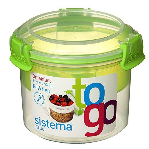 Sistema Breakfast To Go, 530 ml, grün 25355