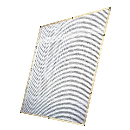 ZHJBD LEIJINGZI Worth Having - Sun Shade Paño Canopy Toldo Shelter Tela Pantalla de Tela  Bloque UV Sombra Resistente a UV Navegación para balcón, Planta, Patio al Aire Libre Carport, 2m × 5m