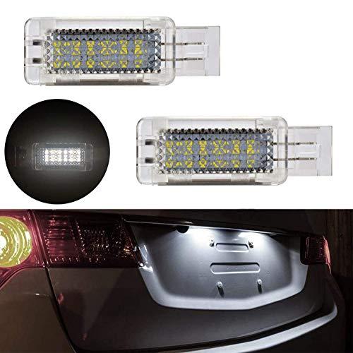 GOFORJUMP Lampe de Porte à LED pour Lampe de Porte pour B/ENZ, Classe C W203 4D 5D 01-07 / W209 03-08 / SLK R171 06 ~ / R1199 03-09