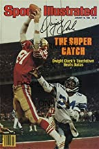 Dwight Clark Sports Illustrated Autograph Poster