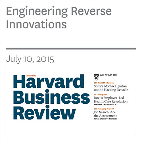 Engineering Reverse Innovations copertina