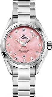 Seamaster Aqua Terra Pink Dial with Diamonds Ladies Watch 231.10.34.20.57.003