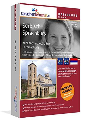 Serbisch Sprachkurs: Serbisch lernen für Anfänger (A1/A2). Lernsoftware