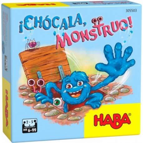 Haba-¡ Chócala, Monstruo-ESP Juego de Mesa (Habermass H305503)