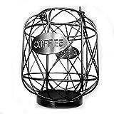 TANSTAN Soporte para monodosis de café y organizador, soporte para tazas, soporte para tazas de café y espresso, cesta de almacenamiento, soporte para cápsulas, color negro
