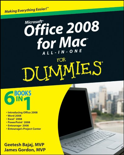 Office 2008 for Mac All-in-One For Dummies (English Edition)