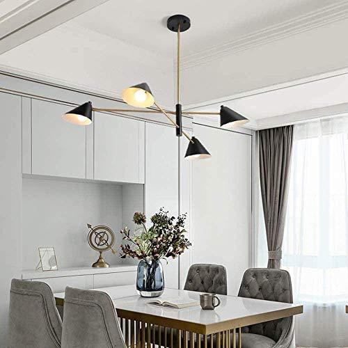 Candelabros para todas las lámparas de cobre Jane European - Lámpara colgante E27 * 15 salón colgante lámpara ambiente luz simple moderna nórdica iluminación cobre (sin bombilla)