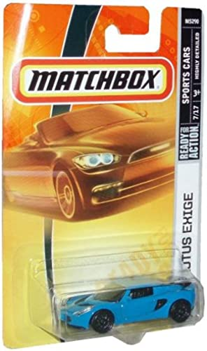 soporte minorista mayorista Mattel Matchbox 2007 2007 2007 MBX Sports Cars 1 64 Scale Die Cast Metal Car   15   azul Exotic Sport Coupe Lotus Exige by Matchbox  ¡no ser extrañado!
