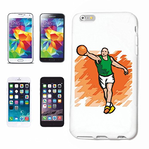 Funda para teléfono móvil compatible con Huawei P9, baloncesto, balonmano, Mega Sports Hobby