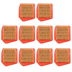Replaces # 4147 141 0300 Fits STIHL FS240 FS240R FS240CE FS260CE FS360CE FS460CEM FR460TCEM string trimmer brushcutter Package include: 10pcs Air Filter