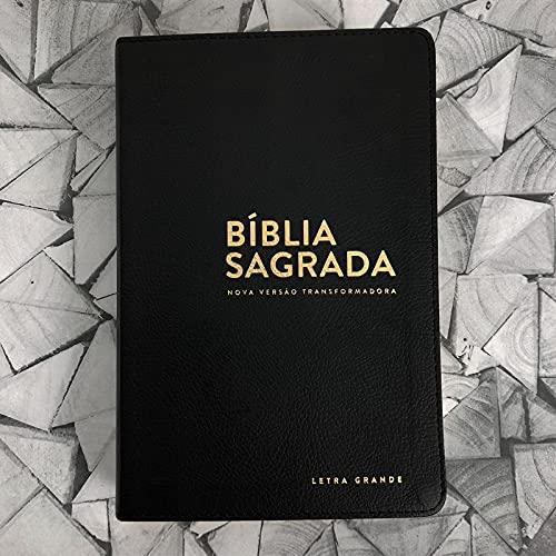 Bíblia NVT - LG (Letra grande): Preta
