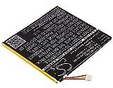 CS-ACW770SL Batería 2700mAh Compatible con [Acer] Iconia One 7 B1-770 sustituye KT.0010H.003, para PR-329083, para PR-329083(1ICP4/90/84)