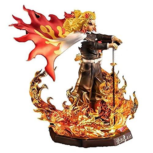 Figura De Anime Demon Slayer Dawn Blade Nezuko Figuras De PVC Tanjirou Akaza Estatua Figuras Rengoku Kyoujurou Figura De Acción Colección Modelo Muñeca Juguetes para Niños Regalo 20Cm