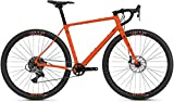 Ghost Fire Road Rage 6.9 LC U - Bicicleta de carretera (XL/53 cm, Monarch naranja/negro oscuro)