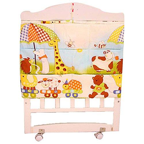 Belle Multilayer animal Pouch Sac à couches de stockage de bébé Sac de chevet