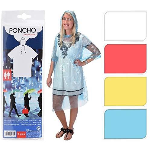 Regenponcho Poncho , Universalgröße, verschiedene Farben