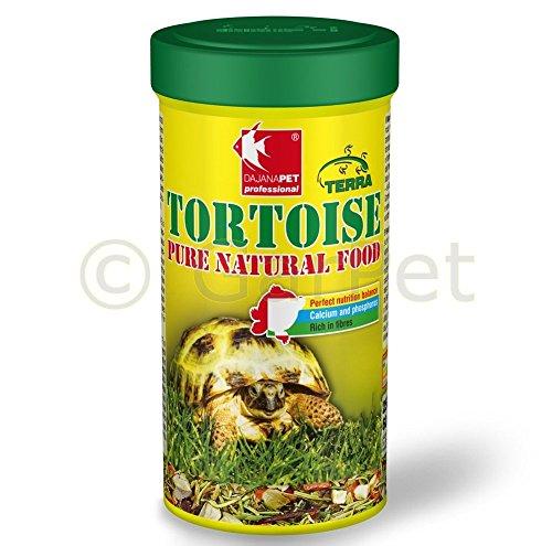 Dajana Tortoise Pure Natural Food - Mangime vegetale per tartarughe terresti e altri ofidi erbivori