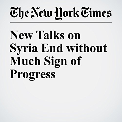 New Talks on Syria End without Much Sign of Progress cover art