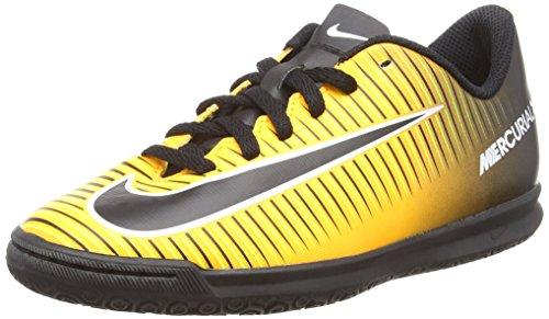 Nike Jr Mercurialx Vortex III IC, Botas de fútbol Infantil, Naranja (Laser Orange/Black/White/Volt), 32 EU
