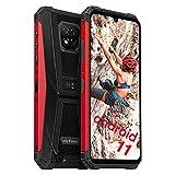 Téléphone Portable Incassable Débloqué, 128Go + 6Go, Android 11 Smartphone Incassable 16MP Arrière Caméra, Helio P60 Octa-Core, FHD 6,1 Pouces, Ulefone Armor 8 Pro, 4G, Batterie 5580mAh NFC Type-C