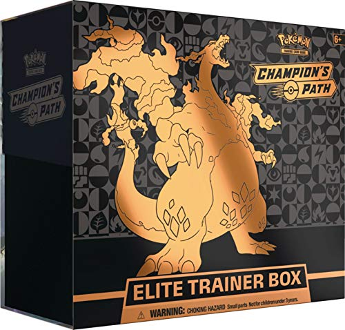 Pokémon POK80545 TCG: Champion's Path Elite Trainer Box, Mul