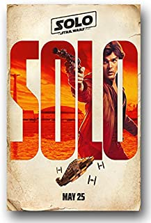 Solo Poster - Movie Promo - 11 x 17 inches - A Stars Wars Story 1st Teaser