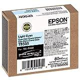 Epson T850500 - Cartucho de tinta, color cian, Ya disponible en Amazon Dash Replenishment