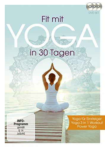 Fit mit Yoga in 30 Tagen [3 DVDs]