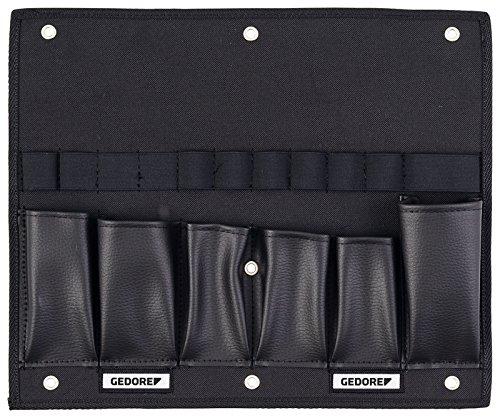 Gedore ET-1100 W gereedschapskaart, leeg, zwart, voor het bewaren en sorteren van gereedschap in een L-Boxx (b 375 mm x d 20 mm x h 310 mm) Single