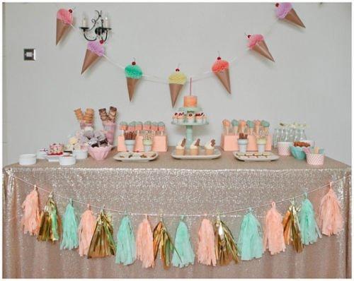 Nvfshreu 125X180cm handel pailletten champagne glinsterende tafel doek bruiloft glitter pailletten eenvoudige stijl tafelkleed