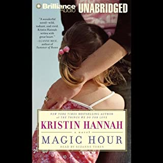 Magic Hour                   By:                                                                                                                                 Kristin Hannah                               Narrated by:                                                                                                                                 Suzanne Toren                      Length: 14 hrs and 38 mins     205 ratings     Overall 4.2