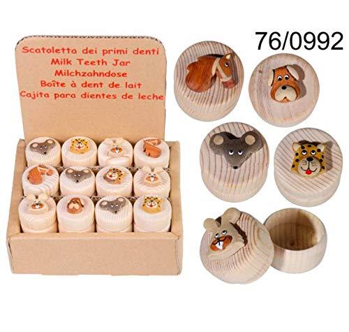 Boîte à dents de lait animaux