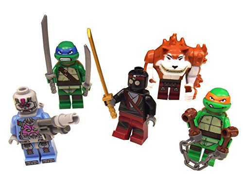 LEGO® alle Figuren aus Shellraiser Street Chase - Turtles