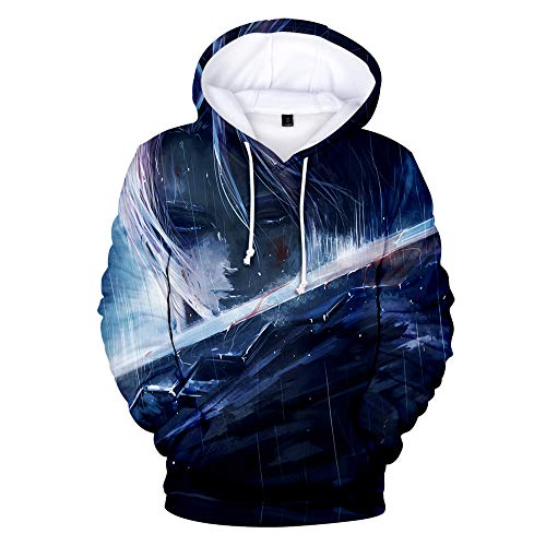 The Seven Deadly Sins Unisex Hoodies HD 3D Print Pullover Casual Sweatshirts Long Sleeve Pockets Hood Fashion Gifts Hoodie Men's Woman Anime Hooded Jumpers Sportswear T-Shirts Zip Top S