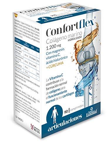 Confortflex® 1200 mg. 90 comprimidos con colágeno, cúrcuma, magnesio, ácido hialurónico y vitamina C.