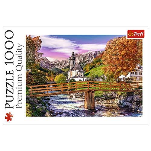 Trefl, 10623 Puzzle, Herbstliches Bayern, 1000 Teile, für Kinder ab 12 Jahren