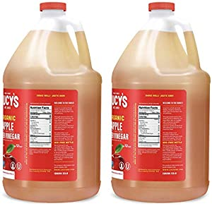 Lucy's Family Owned - USDA Organic NonGMO Raw Apple Cider Vinegar, Unfiltered, Unpasteurized, With the Mother, (2 Pack Gallon) #4