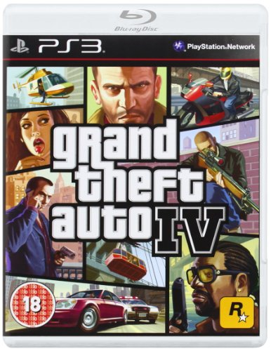 PS3 Grand Theft Auto IV Platinum Edition