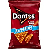 Doritos, Nacho Cheese Flavored Tortilla Chips Party Size, 15 oz, 3 Pack