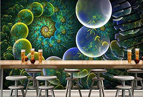 Papel Pintado 3D Decoración Murales Pared De Fondo De Herramientas De Ktv De Barra De Flores De Discoteca Fresca-200Cmx140Cm