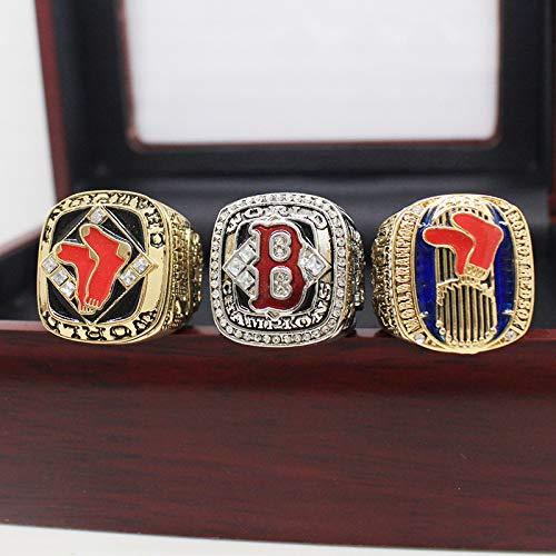 Fei Fei MLB 2018 World Professional Baseball League Championship Ring Anillos de Campeonato campeones de Baloncesto réplicas de Aficionados colección Hombres Recuerdo,with Box,11