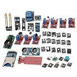 Kit De MóDulos De Sensor De 45 Unids/Set, MóDulo De Placa De Sensor De Desarrollo Actualizado, Proyecto De Arranque DIY Para Microcontrolador