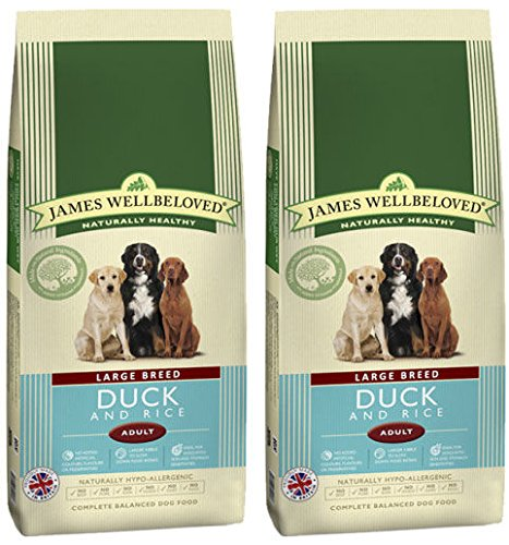 Compare James Wellbeloved Multi Buy Large Kibble Dog Food Duck And Rice 2 X 15kg Ismail Makena Daew