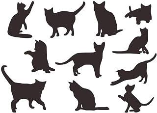 Amazon.es: Gato Negro - Pegatinas de pared / Decoración de ...