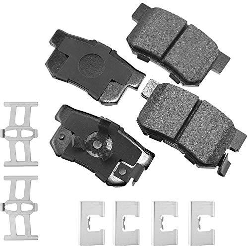 Akebono ACT1086A Ultra-Premium Ceramic Rear Disc Brake Pads
