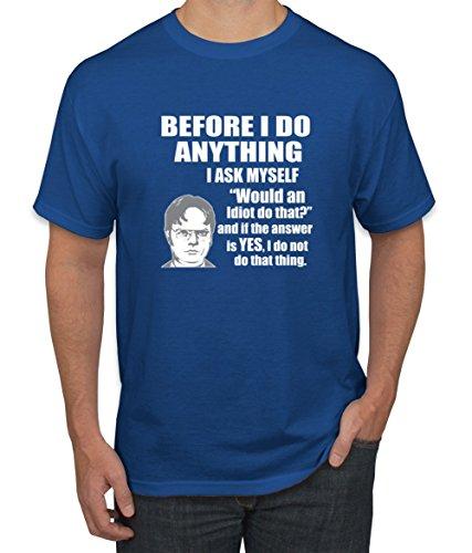 Thats What - she Said Funny Office Joke Tee Shirt T-Shirt, 2XL, Black