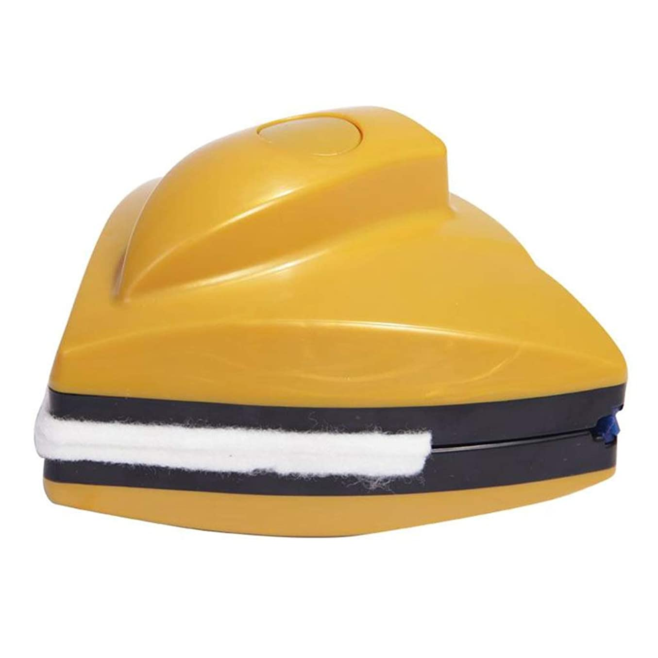完全に動揺させる主要な安全ガラスクリーナー日常使用家事掃除道具3階強力な磁気効率的な両面ガラスは、クリーンな高層ビルを拭く窓をこすり,Yellow