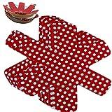 Protector Sartenes y Ollas Esenciales para Evitar Arañazos - Mantenga Limpio y Extienda la Vida Útil de Sus Utensilios de Cocina - Estufas - Woks - Sartenes - Cacerolas - Tazones - Envases (Rojo)