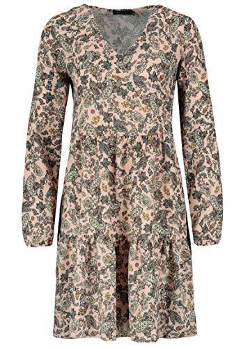 Sublevel Damen Kleid mit Paisley Muster-Print Rose M/L