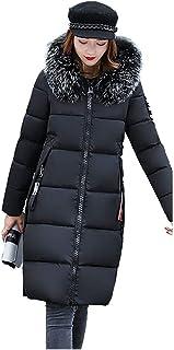 356ee4abcaa5 Cappotto con Cappuccio da Donna,Cappotti Invernali Addensare Aggiungi  Velluto Casual Eleganti Taglie Forti Giacche